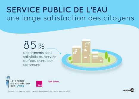 service public de l'eau, une large satisfaction | L'eau en chiffres | Scoop.it