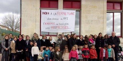 Mobilisation contre la fermeture d'une classe | Vie et patrimoine à St Martin-du-Bois (33) | Scoop.it