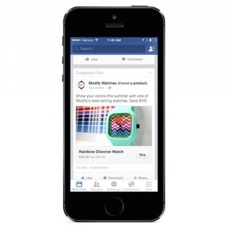 F-Commerce : Facebook teste un bouton « Buy » | Going social | Scoop.it
