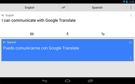 Engage! Google's 'Universal Translator' Coming To Alpha Quadrant Via Translate App | Conversational English & Spanish from the Comfort of your Lounge | Scoop.it