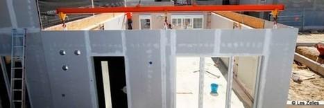 Une maison à ossature bois préconstruite en usine | Conseil construction de maison | Scoop.it