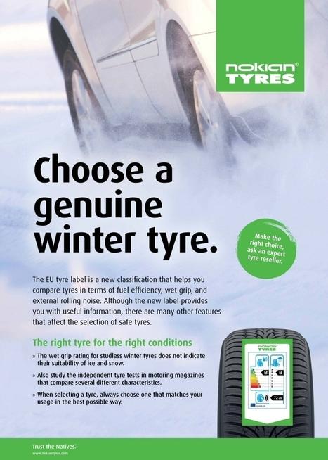 Etiquette-pneus.com : l'étiquetage de vos pneus | Pubicité, pneu hiver et étiquette | Info-Pneus : actus, conseils, promos | Scoop.it