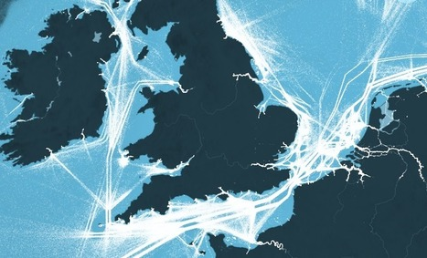 This is an incredible visualization of the world's shipping routes | Mr Tony's Geography Stuff | Scoop.it