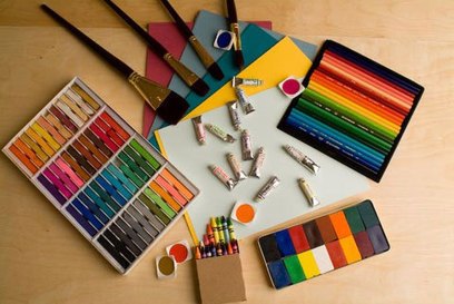 Art Materials | The Arts forming our personality | Scoop.it