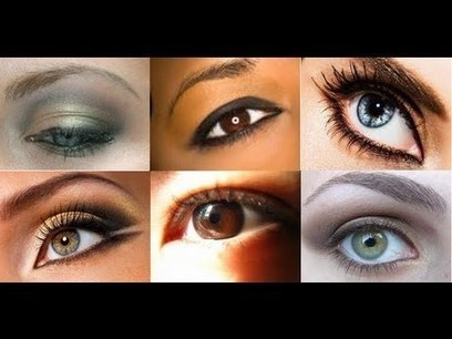 HOW TO: KNOW YOUR EYE SHAPE | Beauty | Scoop.it