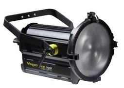 """NEW VEGALUX 300™ a powerful 12"""" 300W BiColor Motorized Zoom DMX Dimmable StudioLED Fresnel 