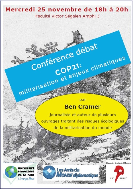 COP21: la militarisation des enjeux climatiques par Ben Cramer | Amis du Monde Diplomatique Brest | Scoop.it