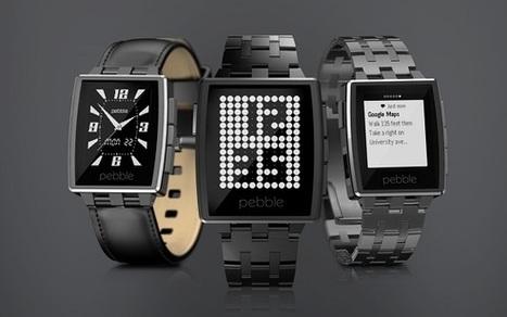 Pebble annonce des nouveautés qui bousculent les montres connectées au #CES2014 - News Domotiques by Domadoo | Pilule box | Scoop.it