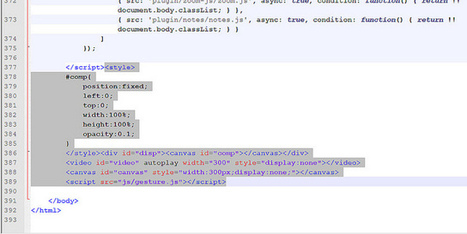 Reveal.js + Gesture navigation: Control presentations with hand gestures   Bbroy   Scoop.it