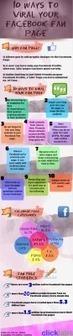 10 maneras de viralizar tu página de FaceBook #infografia #infographic #socialmedia | Empresa Innovadora Creativa 3.0 | Scoop.it