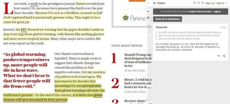 Quand les chercheurs en sciences du climat «fact-checkent» les articles de presse | Planete DDurable | Scoop.it
