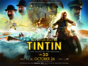 See the new 'Tintin' movie for free at your local cinema | Machinimania | Scoop.it