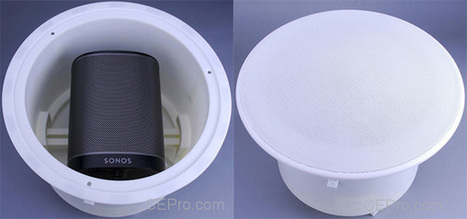 Transformer une enceinte Sonos en enceinte de plafond encastrée | Multiroom audio & video | Scoop.it