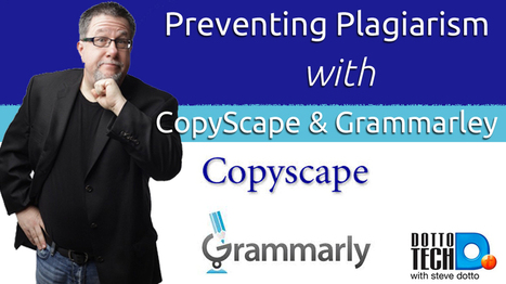 Preventing Plagiarism with CopyScape and Grammarly | Research Capacity-Building in Africa | Scoop.it