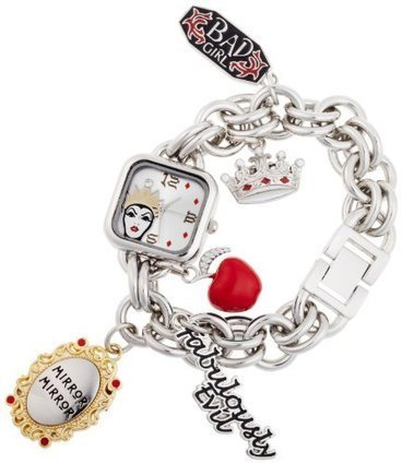 $@$  VL2001 Disney Womens VL2001 Evil Queen Silver Dial Silver-Tone Charm Watch Disney | Cheap Casual Watches Men | Scoop.it
