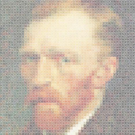 QR Van Gogh - L'art du zoom by Kim Mooyong | QRdressCode | Scoop.it