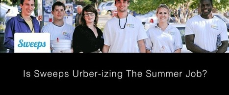 Is NC Startups Sweepsjobs.com Urberizing the Summer Job? via @Curagami | Startup Revolution | Scoop.it