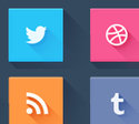125+ Best Free Social Media Icons Buttons | Webdesignrazzi | The right foundation for Social Media | Scoop.it