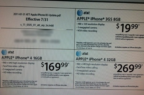 iPhone 4 Available For $169 And iPhone 3GS For $19 At RadioShack – Offer Ends August 6 | iOS development | Scoop.it