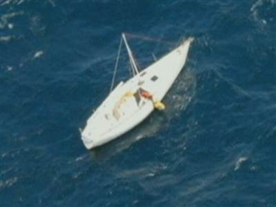 Rescue from above: Plane passengers aid stranded sailor   ScubaObsessed   Scoop.it