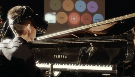 People With Disabilities Can Play Piano Thanks to Eye-Tracking in Virtual Reality | Psychology, Health and Happiness | Scoop.it