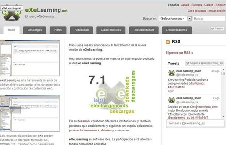 eXe Learning: Editor de recursos educativos | Digital Learning Guide | Scoop.it