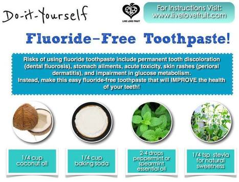 The Natural Health Page: Fluoride In The Water | Inspired | Scoop.it