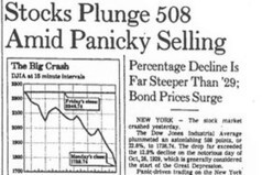 Another stock crash like 1987's is inevitable  Mark Hulbert | StockWatch and Market Trend | Scoop.it