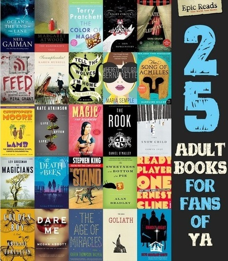 25 Adult Books For Fans Of YA | Ray's Book Stuff | Scoop.it
