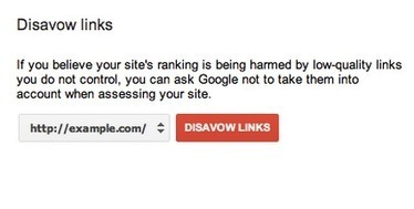 Use Google's Link Disavow Tool To Remove Poor Links ?   ProBloggerTricks   Scoop.it