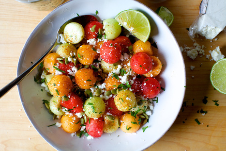 chile-lime melon salad | Tastes and flavors | Scoop.it