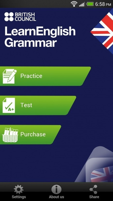Apps | LearnEnglish | British Council | LearnEnglish Grammar (UK edition) | Time to Learn | Scoop.it