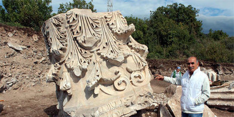 Biggest Roman capital unearthed in western Turkey excavation   Classics in the news   Scoop.it
