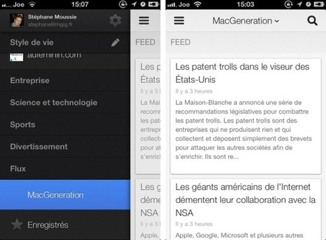 Google Reader s'éteint au profit de Google Now et Google+ - MacGeneration | marketing et google+ | Scoop.it