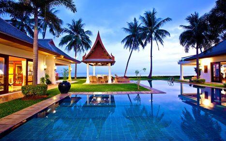Koh Samui Luxury Beachfront Villas, Luxury Villa Rentals | Miskawaan | Koh Samui Villas | Scoop.it