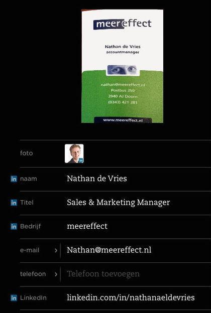 Beter visitekaartjes scannen met LinkedIn-koppeling in ... - Lifehacking | ICTMind | Scoop.it