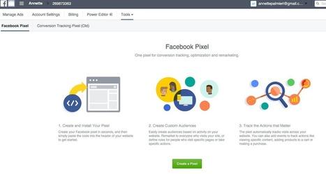 Come creare un pixel di tracciamento su Facebook | marketing personale | Scoop.it