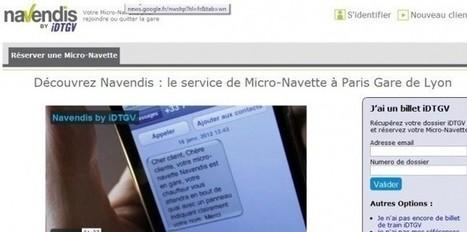 La SNCF s'attaque au monopole des taxis | Objectif Droit Conseil et Formation | Scoop.it
