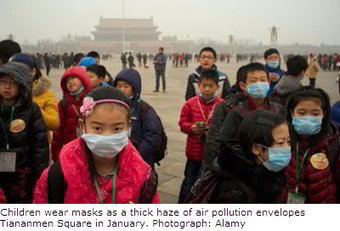 Chinese struggle through airpocalypse smog | marketspace | Pollution and Human Health | Scoop.it
