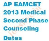AP EAMCET Medical Second Phase Counseling Dates September 2013 | JOBSLIVE | Government jobs | Scoop.it