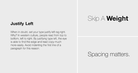 10 Golden Rules To Improve Your Typography Skills | DigitalSynopsis.com | Scoop.it