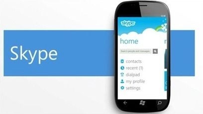 Skype for Windows Phone is coming soon | Microsoft | Scoop.it