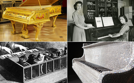 The world's strangest pianos | What about? What's up? Qué pasa? | Scoop.it
