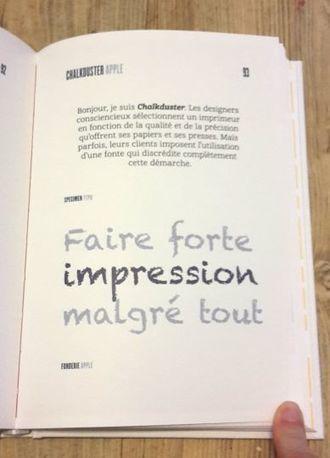 Livre: What the font? ou l'univers de la typographie   a million pages   Scoop.it