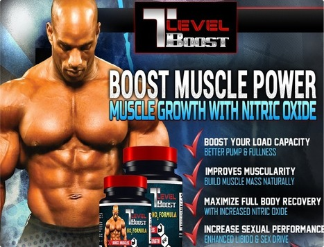 T Level Boost Review - Improve The Vitality Of Your Body ! | rebeca casey | Scoop.it