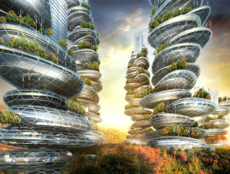 [Shenzhen, China ] vincent callebaut architectures: asian cairns, | The Architecture of the City | Scoop.it