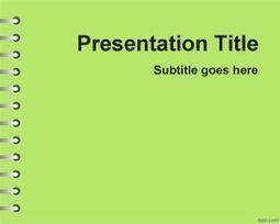 Plantilla PowerPoint Verde de Tareas escolares   Plantillas PowerPoint Gratis   Plantilas PowerPoint   Scoop.it