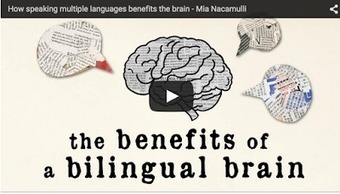 A Wonderful TED Ed Video on The Cognitive Advantages of Bilingualism | Technology in Art And Education | Scoop.it