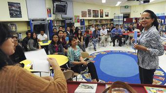 Halethorpe Elementary bridges language gap at ESOL info session   ESL Students   Scoop.it