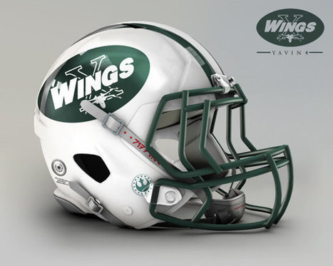 All 32 NFL Teams' Star Wars Themed Football Helmets | Geekologie | Winning The Internet | Scoop.it
